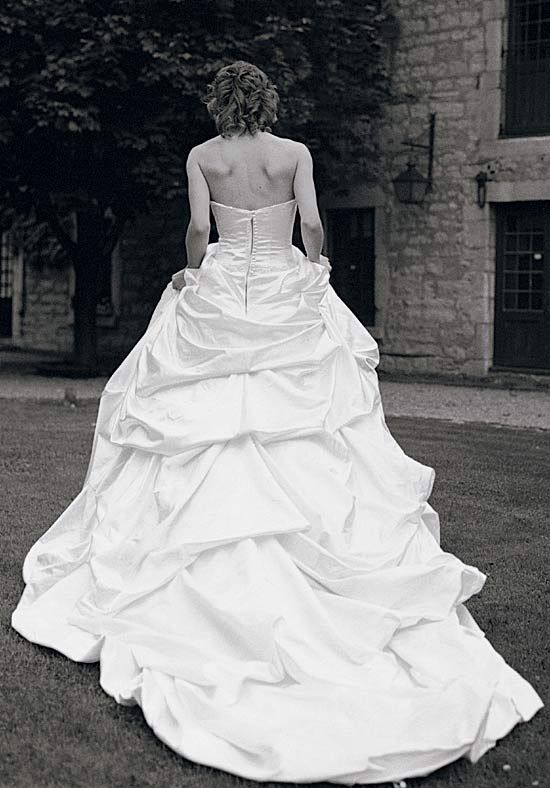 My Justina McCaffrey couture gown. almost 7 years later and I still love it!