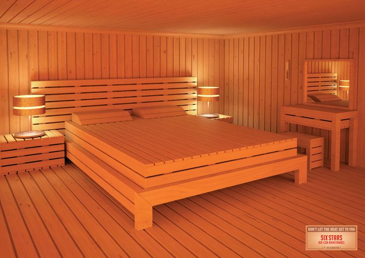 Bedroom Sauna :)