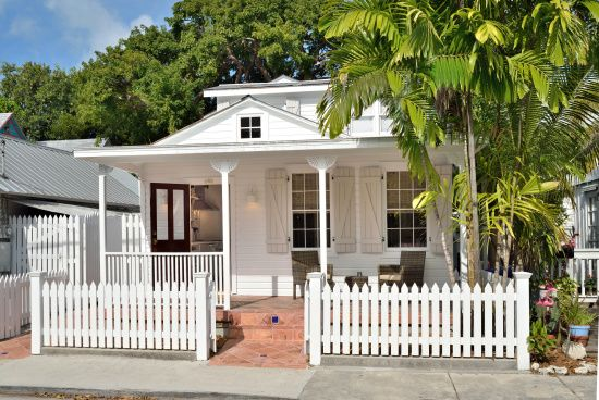 Real estate find of the week! Petunia and Poppy Cottages, Key West, Florida. | Coastalliving.com