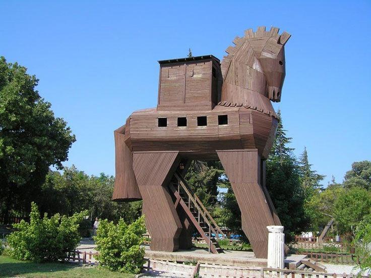 Troy Horse  Çanakkale/Turkey