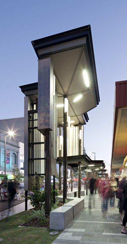Flinders Street Revitalisation, Townsville, Australia by Cox Rayner Architects