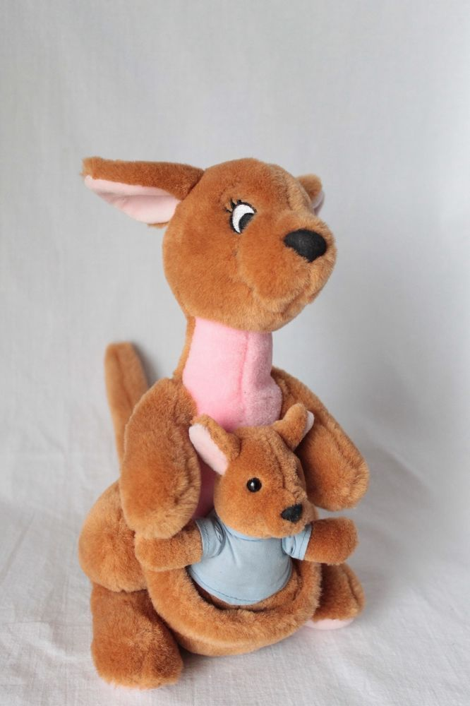 Disney Vintage 10 Quot Kanga And Roo Plush Kangaroo Stuffed
