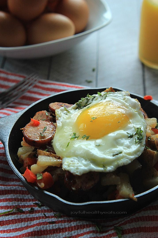 Chicken Sausage Pepper Potato Hash | Recipe | Potato Hash, Chicken ...