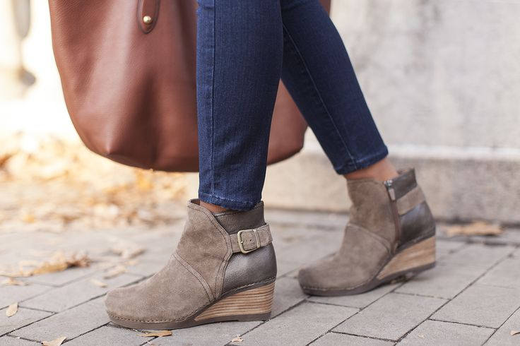 Shirley - Must-have wedge booties this Fall!