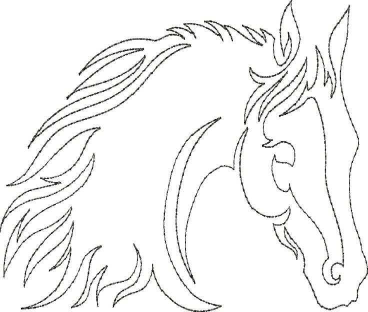 Horse Song - Continuo Individual Línea acolchar
