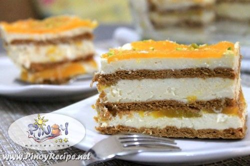 Mango Float Recipe is easy to make and very delicious Filipino dessert, a big…