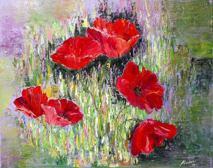 View Poppies in vase by Alina Madan. Browse more art for sale at great prices. New art added daily. Buy original art direct from international artists. Shop now