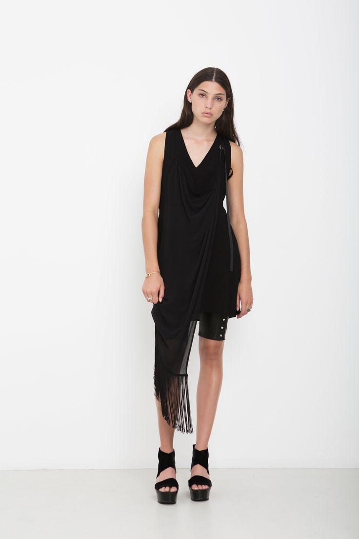 OUTSIDERS DRESS | BADLANDS BIKE SHORTS