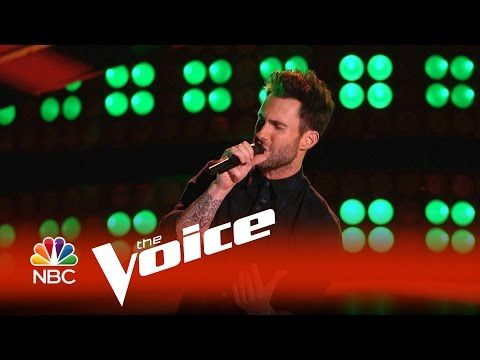 ▶ The Voice 2015 - Adam Levine Blind Audition - YouTube