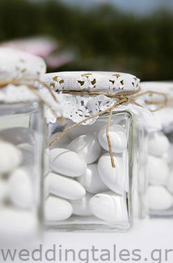 A simple yet sooo chic wedding favour for your guests with a vintage style! By…