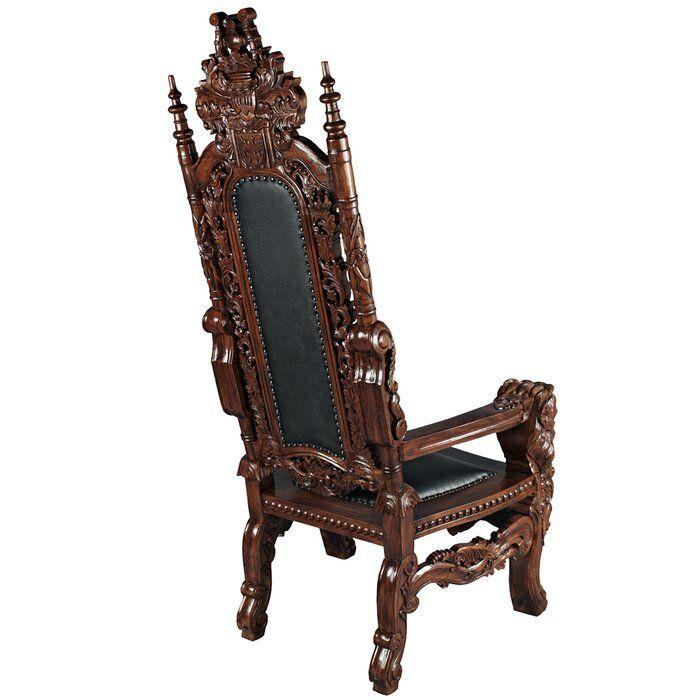 The Lord Raffles 68 W Armchair Throne Chair Armchair Fine Furnishings