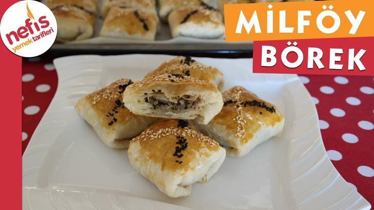 Milföy Tadında Yufka Böreği - Börek Tarifi - Nefis Yemek Tarifi