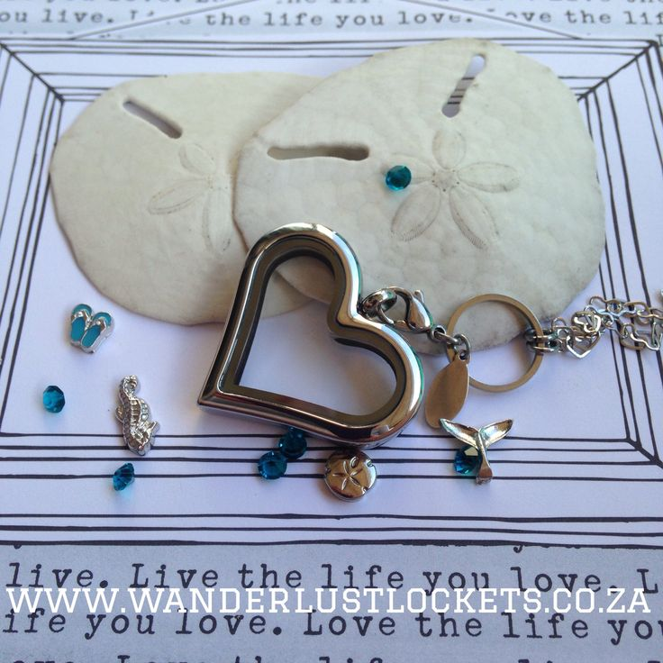Dreaming about summer? Keep your summer in your locket www.wanderlustlockets.co.za