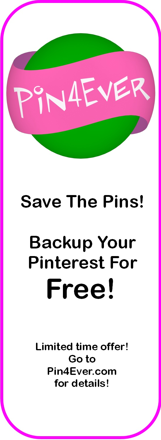 Save a backup copy of all my Pinterest boards and pins for FREE?  Yes, please!