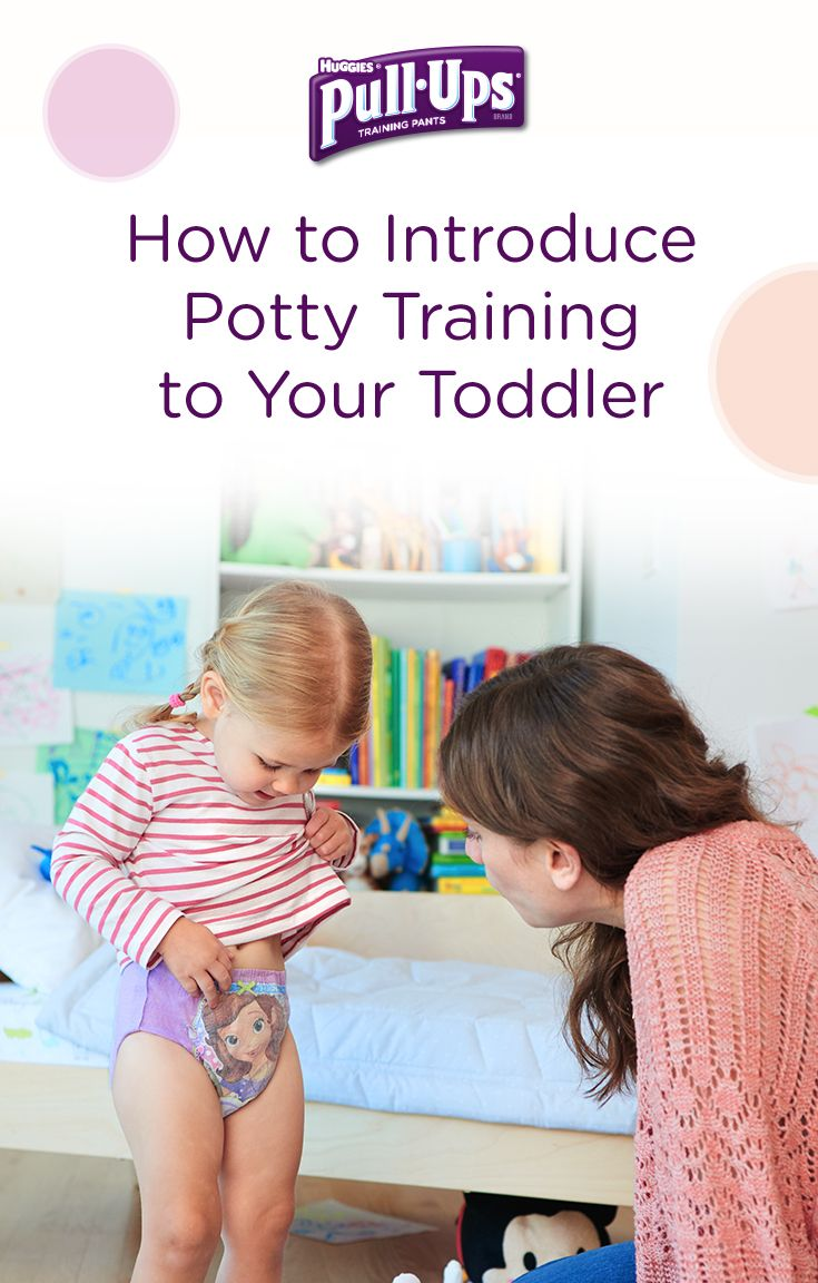Your eager potty trainer, the Puppy, will most likely be on board from the moment you decide to introduce Pull-Ups. So start the process now by checking out our range of training pants, some that even fade when wet like Pull-Ups Learning Designs to remind your trainer when it's time to go. Be careful to stay in tune with her during potty training — guiding and praising as you go. A positive emotional experience is essential when training with your toddler.