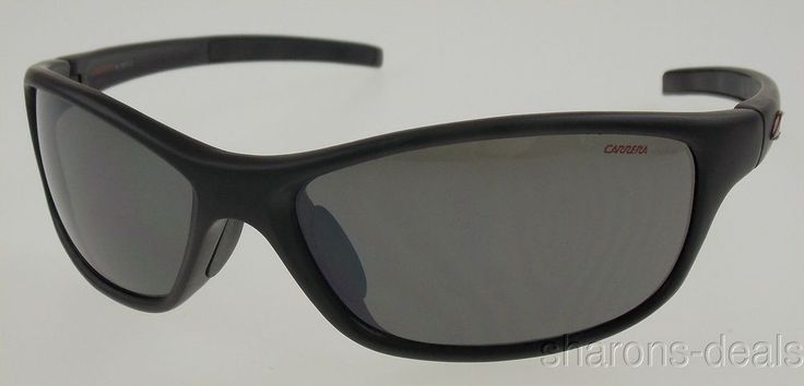 Carrera Ocean Wave Black Sunglasses Safilo Eyewear Sport 61-15-125 100% UVA UVB #Carrera #Sport