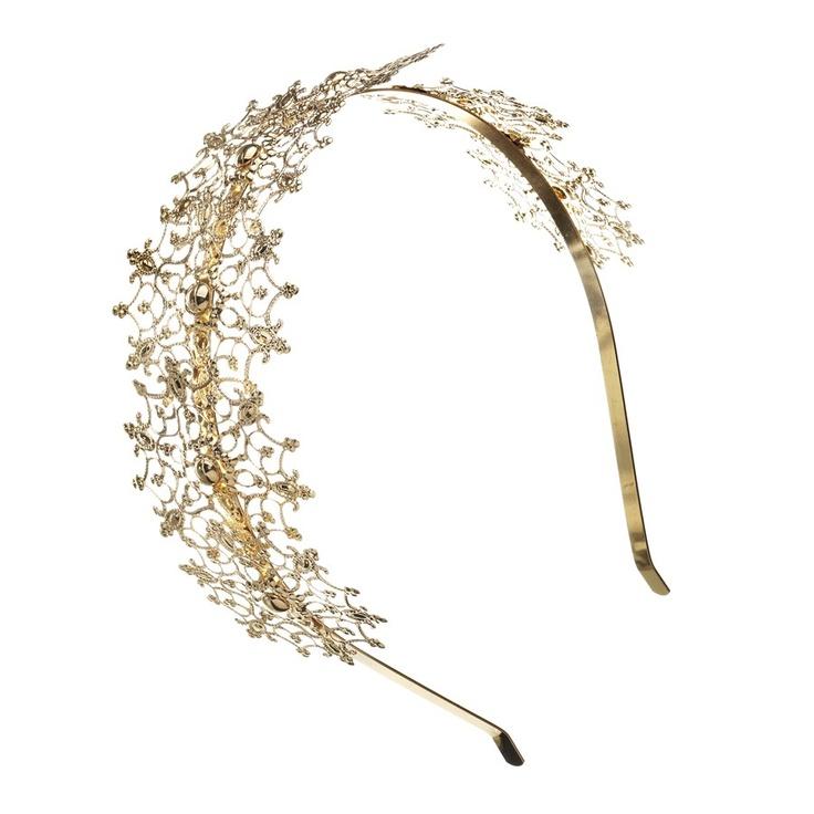 Alice Filigree Headband - Diva