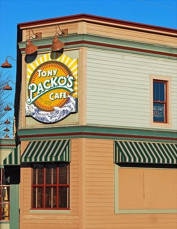Tony Packos - 1902 Front St. Toledo, Ohio made famous by Klinger on MASH ~(3/18/12)  the best chicken chili and fried pickles