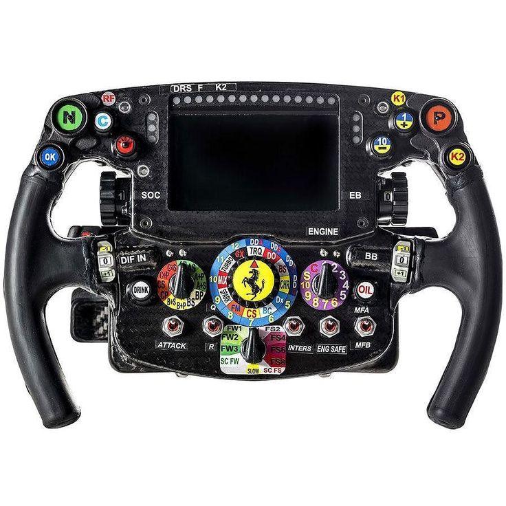 Sebastian Vettel's 2016 Ferrari SF16-H steering wheel. __________  #SebastianVettel #Vettel #Seb5 #SV5 #ForzaSeb #SebVettel #TeamVettel#F1 #Formula1 #FormulaOne #Formel1 #FormulaUno #Formule1 #ScuderiaFerrari #SF16H #Ferrari #Scuderia #ForzaFerrari #RedSeason #PrancingHorse #F12016 #Motorsport #BahrainGP#Sakhir by fansofsebvettel http://ift.tt/1PSe5pk