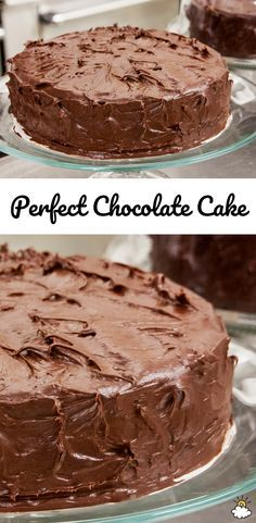 Who would ever guess that our Perfect Chocolate Cake Recipe has tomato soup as an ingredient? No really, tomato soup adds a creamy richness to your favorite chocolate cake batter, leaving you with the perfect chocolate cake.