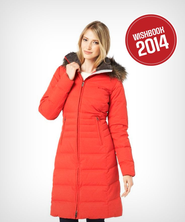 Trendy, bright and comfortable! What more could you want from a down winter jacket?