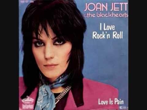 Joan jett love rocks and rock roll on pinterest