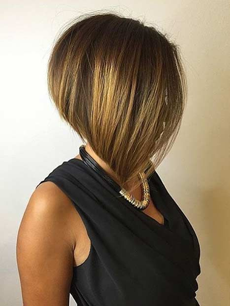 Elegant Inverted Bob Haircut