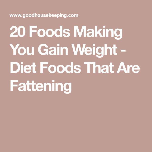 Diese Sneaky Foods machen Sie Gewichtszunahme, nach einem R.D.