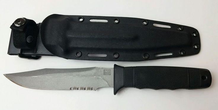 "SOG Specialty Knives SEKI JAPAN Tactical 8.5"" Fixed Blade Dagger Kydex Sheath  #SOG"