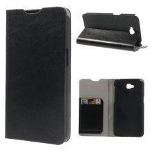 Capa LG G Pro Lite Livro Carteira Preta R$45,20