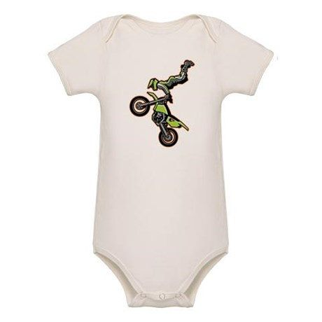 Motocross Baby Rider ORGANIC Baby Onesie by MotocrossBedding on Etsy