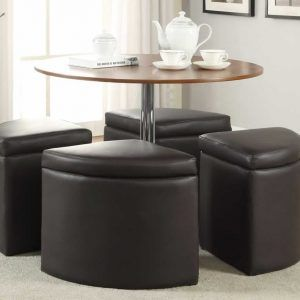 Coffee Table With Storage Chairs