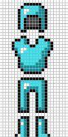 Minecraft Diamond Armour by Hama-Girl