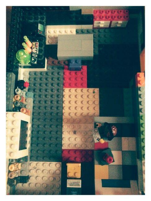 Lego nerd's house