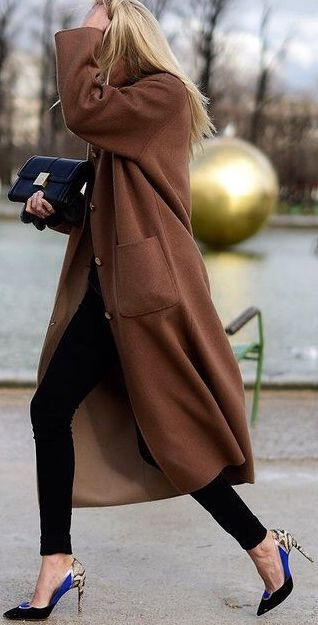 The length and color of the coat, with those shoes? I'd like a copy, of both…