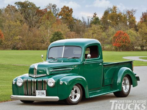 1947 Ford F-1 - Fun One - Custom Classic Trucks Magazine
