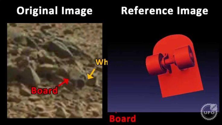 Is it Skateboard on Mars surface ? #Aliens #AncientArtifacts #Annunaki #Mars #UfoDisclosure