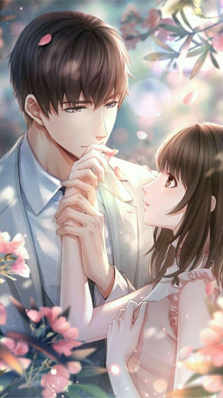Картинка парня девушки в аниме