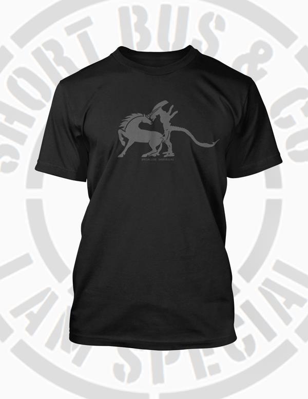 # alien vs unicorn - special love # www.shortbus.us # https://www.facebook.com/shortbusandco?fref=ts #