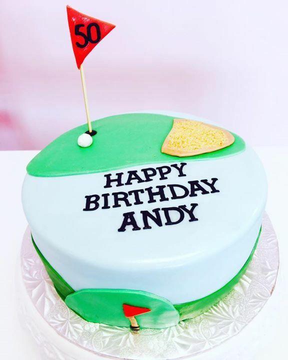 #Golf Themed #BirthdayCake #DvasCakes #Cambridge