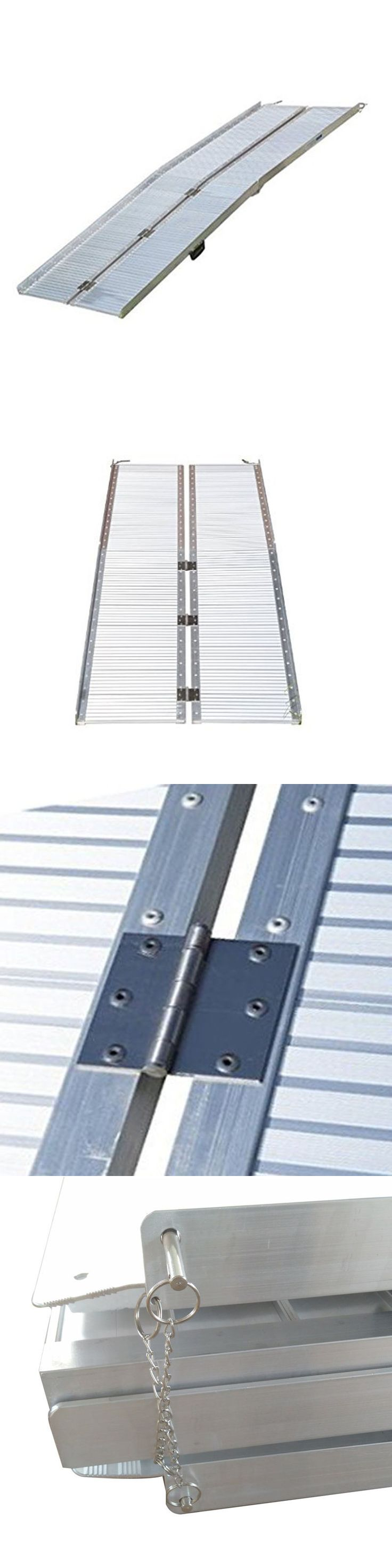 Access Ramps: 10 Folding Portable Suitcase Mobility Wheelchair Threshold Ramp New BUY IT NOW ONLY: $235.55