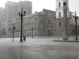 Iglesia de san Francisco, Epoca de lluvias