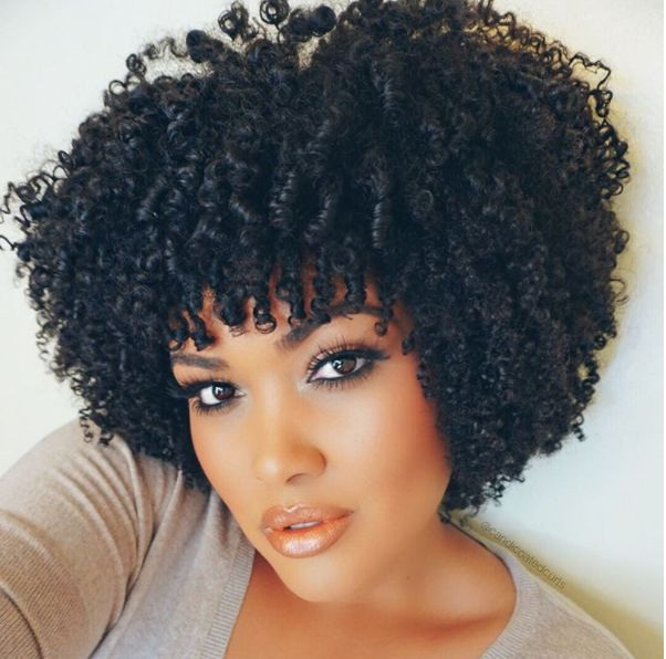 How to Make Your Natural Curls Pop ( Wash and Go Type 3c-4a Curly Kinks)
