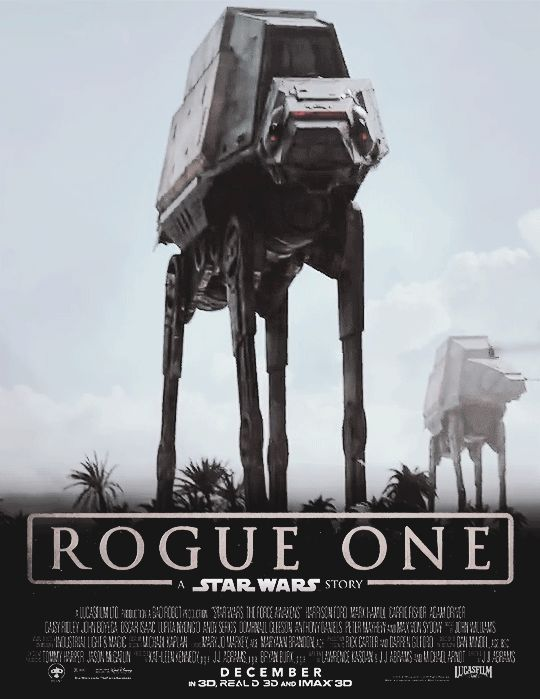 ROGUE ONE: A STAR WARS STORY Official Teaser Trailer mockup film posters by Samezukae