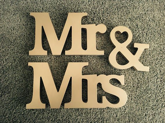 25+ Best Ideas About Mr Mrs Sign On Pinterest