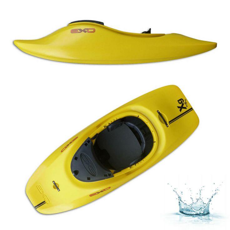 Le EXO XG , c'est du fun garanti et des performances hors du commun. Un kayak rapide, aérien et fluide. Sa forme performante vous permettra d'enchaîner de belles combinaisons.