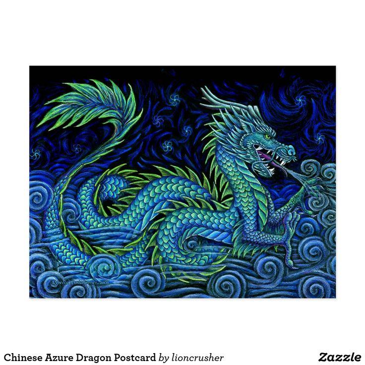 dragon chinese azure