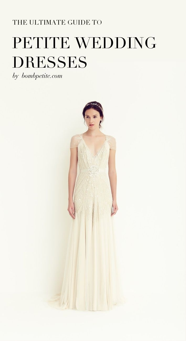 The ultimate guide to petite wedding dresses :: BombPetite.com