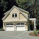 Garage idea: Climbing Hydrangea, Garage Design, Style Garage, Carriage Style, Garage Apartment, Garage Doors, Attached Pergolas, Garage Addition, Garage Ideas