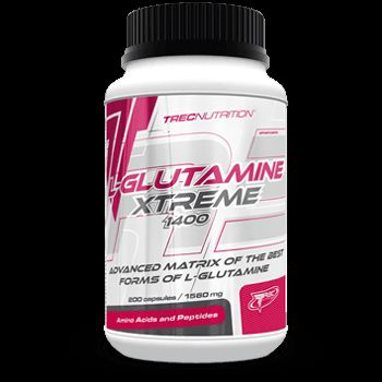 L-GLUTAMINE XTREME 1400: Innowacyjny matrix mikronizowa-nej L-Glutaminy i N-Acetyl L-Glutaminy   Innowacyjny matrix glutaminowy Niezakłócona regeneracja mięśni Mikronizowana L-Glutamina i NAG